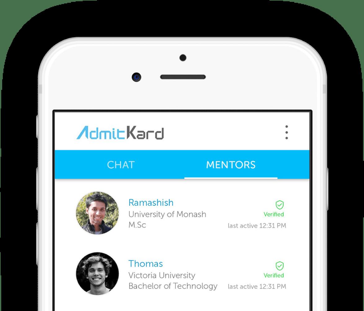 study abroad - admitkard app image